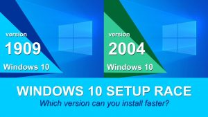 windows 10 2004 vs 1909
