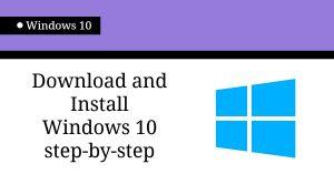 windows 1o install