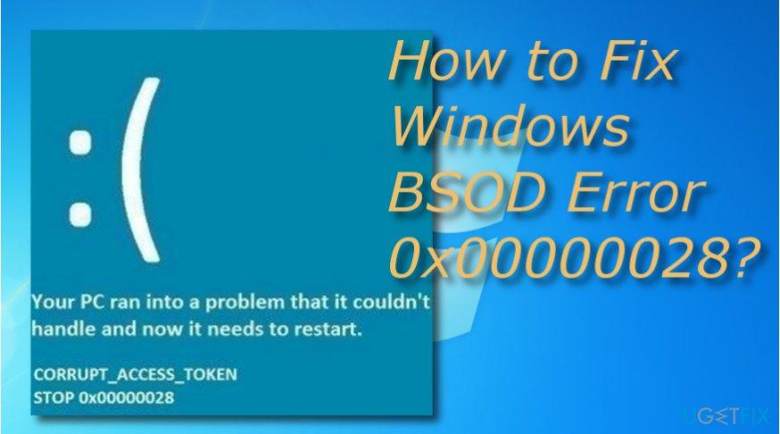 error 0x00000028 update